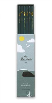 Stiftebox Bleistifteset Sea