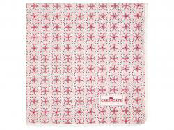 Napkin with lace Harper pale pink