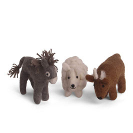 Donkey, Sheep&Ox