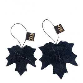 Set of 2 Leaves Paper Ornament