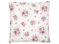 Quilted Cushion Elouise white
