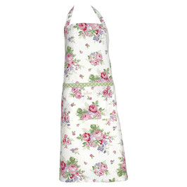 Apron Rose white