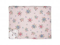 Quilt Roberta pale pink