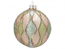Ball Glass Sonja vintage glitter