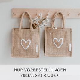 Mini Jute Shopper 2er Set