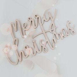 Holzhänger Merry Christmas