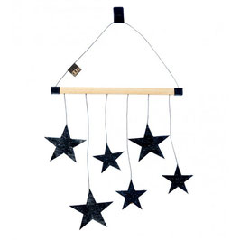 Wooden Hanger with Stars
