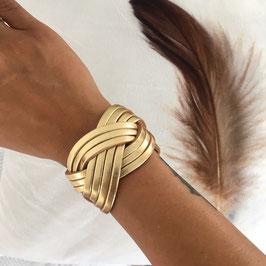 Lederband Gold *chüram*
