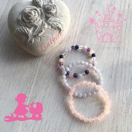 Steinarmbänder für kleine Prinzessinnen