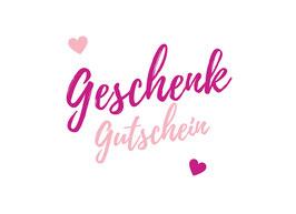 """Gutschein """"Behandlung & Fußpflege"""""""