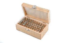 Fräsersatz, 50 teilig in Holzbox