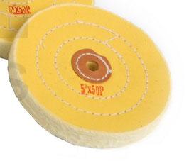 Polierscheibe, gelb, 100 mm