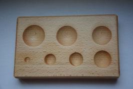 Flachanke aus Holz