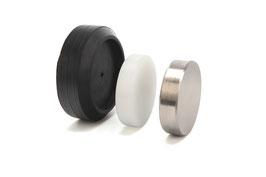 Wechsel-Amboss Stahl / Nylon auf Gummiteller
