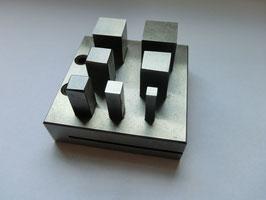 Aushauersatz, Quadrat, 7 tlg