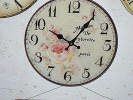 Uhr aus Glas