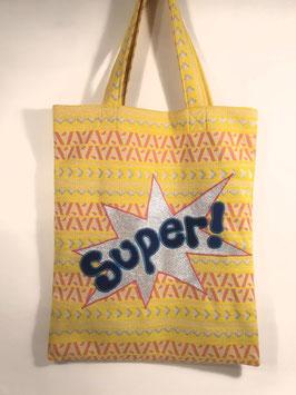 SHOPPER SUPER, yellow vintage