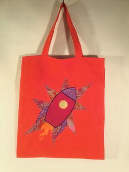 Shopper ROCKET, canvas orange