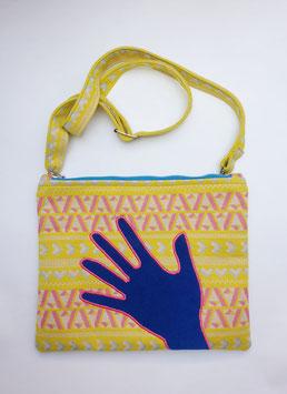 CROSSBODY HAND, blue