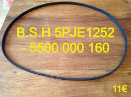 COURROIE LAVE-LINGE : B.S.H 5PJE1252 - 5500 000 160