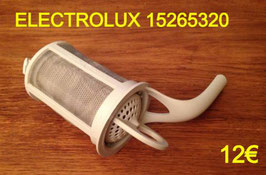 FILTRE DE CUVE LAVE-VAISSELLE : ELECTROLUX 15265320