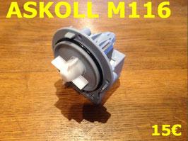 POMPE DE VIDANGE : ASKOLL M116