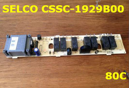 CARTE DE PUISSANCE PLAQUE VITROCÉRAMIQUE : SELCO CSSC-1929B00