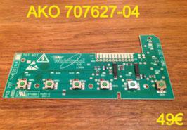 CARTE DE COMMANDE LAVE-LINGE : AKO 707627-04
