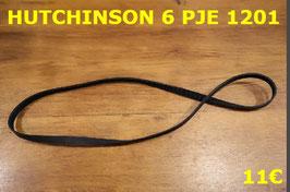 COURROIE LAVE-LINGE : HUTCHINSON 6PJE1201