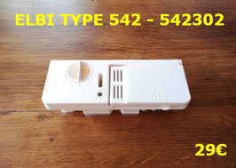 BOITE A PRODUITS LAVE-VAISSELLE : ELBI TYPE 542 - 542302