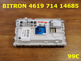 CARTE DE COMMANDE LAVE-LINGE : BITRON 461971414685