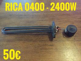 RÉSISTANCE LAVE-VERRE : RICA 0400 - 2400W