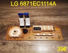 CARTE DE COMMANDE SÈCHE-LINGE : LG 6871EC1114A