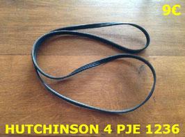 COURROIE LAVE-LINGE : HUTCHINSON 4PJE1236