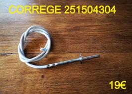 SONDE DE FOUR : CORREGE 251504304