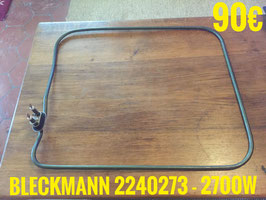 RÉSISTANCE LAVE-VAISSELLE : BLECKMANN 2240273 - 2700W
