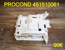 CARTE DE PUISSANCE LAVE-LINGE : PROCOND 451510061