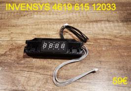 AFFICHEUR DE FOUR : INVENSYS 461961512033