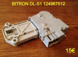 VERROU DE PORTE LAVE-LINGE : BITRON DL-S1 124967512