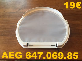 FILTRE A PELUCHES SÈCHE-LINGE : AEG 647.069.85