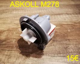 POMPE DE VIDANGE : ASKOLL M278