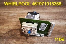 PROGRAMMATEUR LAVE-LINGE : WHIRLPOOL 461971015366