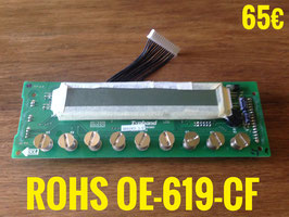 AFFICHEUR DE FOUR : ROHS OE619CF