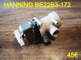 POMPE DE VIDANGE : HANNING BE22B3-172