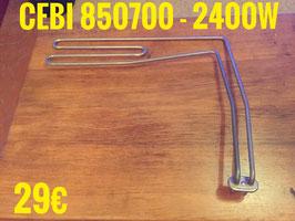 RÉSISTANCE LAVE-VAISSELLE : CEBI 850700 - 2400W
