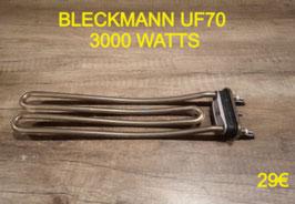 RÉSISTANCE LAVE-LINGE : BLECKMANN UF70 3000 WATTS