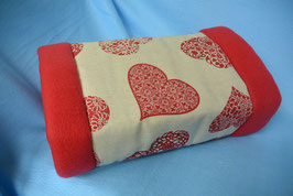"Kuschelrolle ""Red Heart"""