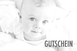 Gutschein für ein Babyshooting inkl. aller Bilder