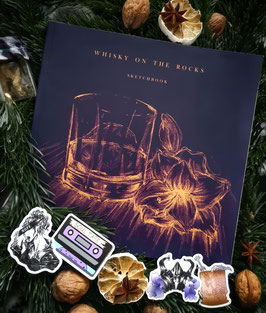 Whisky on the rocks Artbook plus 4 stickers