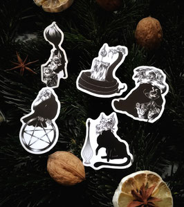 Witches Familiar Sticker